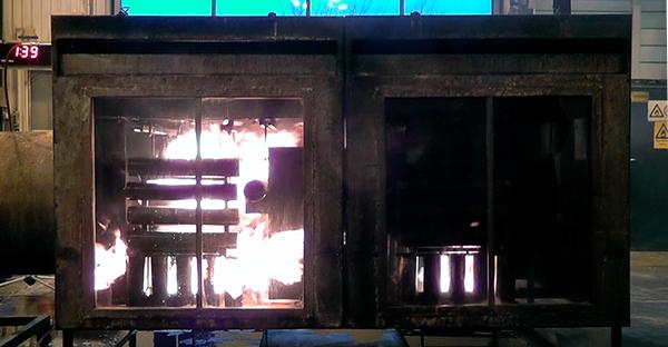 fire test r107